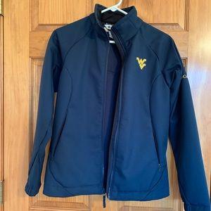 WVU Columbia Soft Shell Coat S